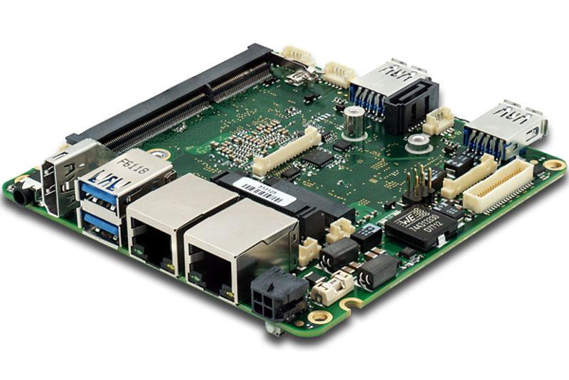 SBC PROFIVE® NUCI x86 Single-Board-Computer in embedded
